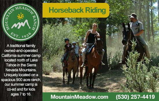 horseback riding camps california
