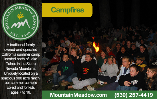 camp fire summer camp california