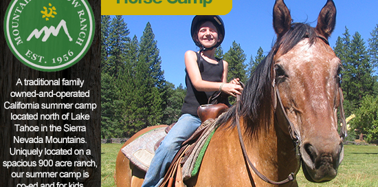 horse camps california