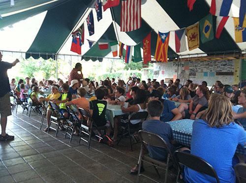 Food at Camp