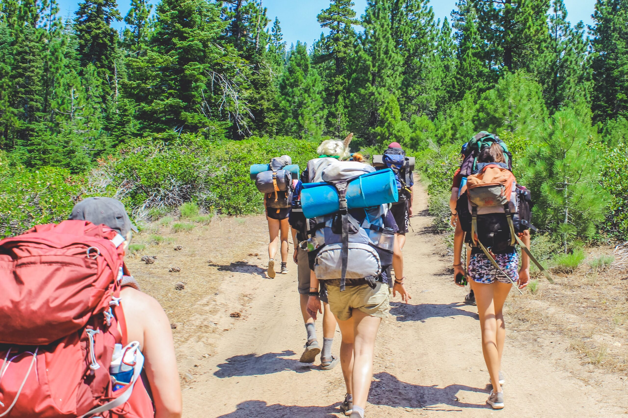 Backpacking: two night and three day hiking and camping trip for 13+ campers